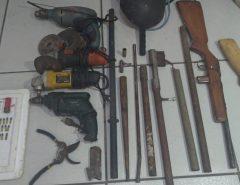 Polícia Civil fecha oficina clandestina de armas em Natal
