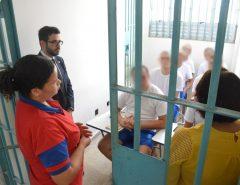 """[FOTOS] Detentos iniciam aulas do projeto """"Remição pela leitura"""" no CDP de Macaíba"""