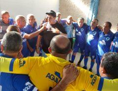 Em estreia pelo Campeonato de Futebol Master, Cruzeiro de Macaíba empata com ABC