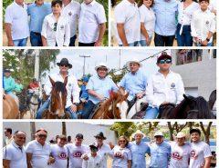 Ezequiel participa da 18ª Cavalgada dos Pais em Bom Jesus