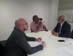 Gerson Lima participa de reunião na secretaria de segurança e aborda questões pertinentes ao município