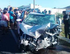 Dois morrem em acidente de trânsito após perseguição policial em Santa Cruz, RN