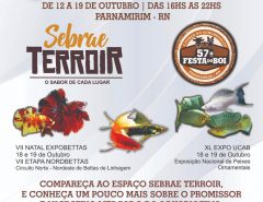 EAJ-UFRN participa da Feira de Aquarismo do Rio Grande do Norte, que ocorrerá em Outubro, durante a Festa do Boi