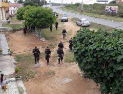 Três suspeitos morrem e outros três são presos após troca de tiros com a PM no interior do RN