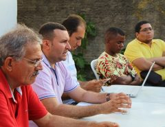 [FOTOS] Gabinete Itinerante: Emídio Jr. se reúne com população de Bela Vista