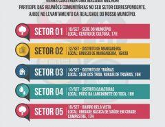 Informe Publicitário: Plano Diretor de Macaíba começa a ser discutido nas comunidades