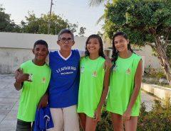 Jovens representam Macaíba no Campeonato Brasileiro de Atletismo Sub-16