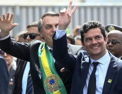 Bolsonaro desfila ao lado de Moro no 7 de Setembro para mostrar que estão afinados