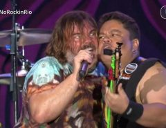 Tenacious D toca com baixista potiguar Júnior Bass Groovador no Rock in Rio