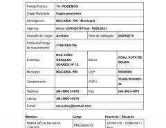 Partido Podemos em Macaíba com nova comissão provisória
