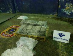 Autoridades apreendem 70 kg de cocaína no porto de Natal