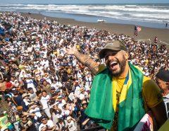 Surfe: Após quase perder evento, potiguar Ítalo Ferreira vence no Japão com 10 na final, e Brasil é ouro em equipes