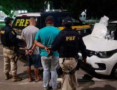 Homens são presos com 4 kg de cocaína e 20 kg de fenacetina na BR-101, no RN