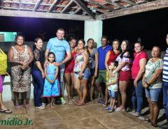 Emídio Jr. realiza reunião do Gabinete Itinerante na comunidade de Cajarana