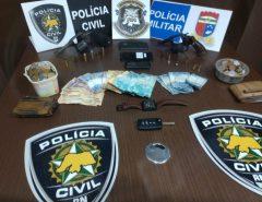 Em Macaíba, dois ladrões foram presos após assaltarem um mercadinho