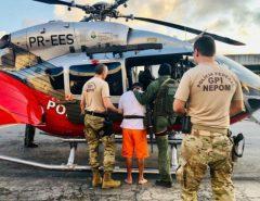Suspeito de ordenar ataques no Ceará é transferido para presídio federal de Mossoró
