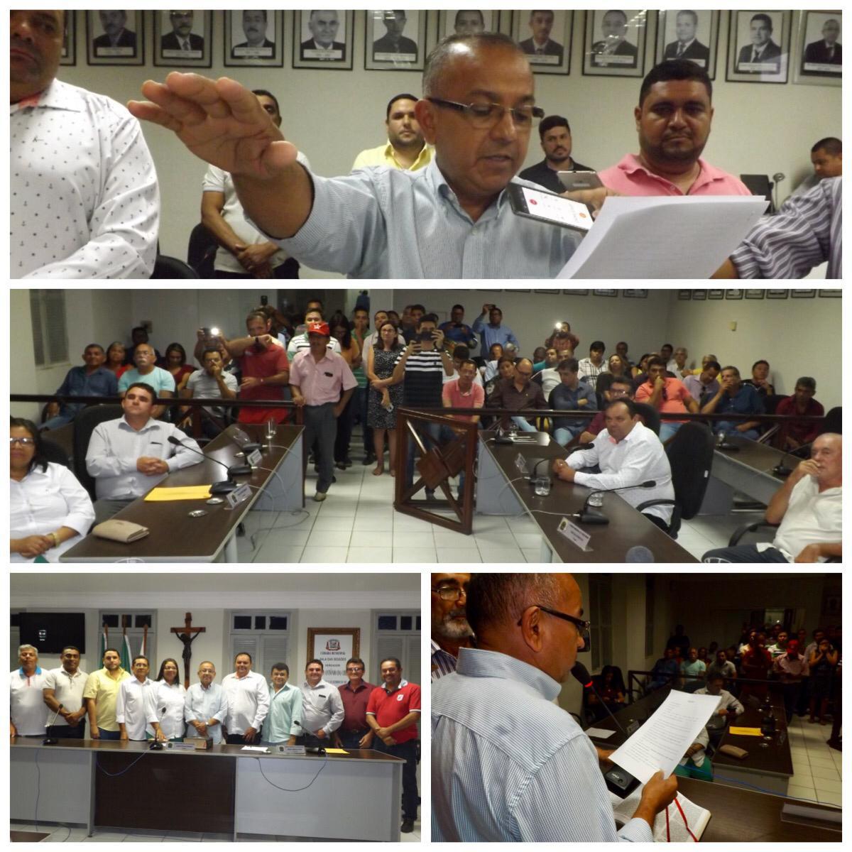 Resultado de imagem para ronaldo venancio assume prefeitura