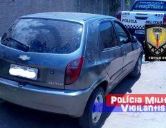 Polícia Militar recupera veículo roubado em operação na Grande Natal