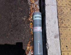 Objeto encontrado próximo ao prédio sede do TJRN é um sinalizador de embarcação