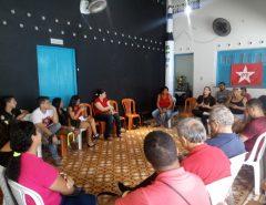 Deputada federal Natália Bonavides participa de atividades em Macaíba