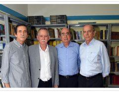 [FOTOS] Inauguração da Biblioteca Ivoncísio Meira Medeiros na Casa de Cultura de Macaíba