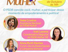 PSDB-Mulher fará encontro na próxima sexta-feira para fortalecer participação feminina nas eleições