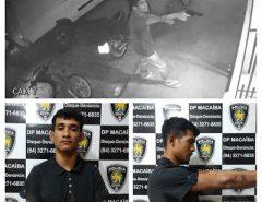Polícia Civil prende suspeito de roubo em Macaíba