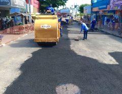 CAERN executa serviços de reparação nas ruas de Macaíba