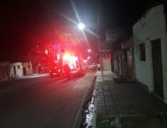Motociclista sofre acidente no centro de Macaíba
