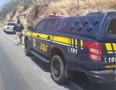 Em menos de cinco horas a PRF recupera quatro veículos roubados