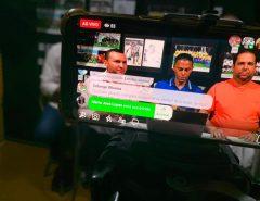 Programa Três Toques bate recorde de audiência com entrevista de Emídio Jr.