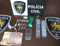 Polícia Civil prende homem por tráfico de drogas em Macaíba