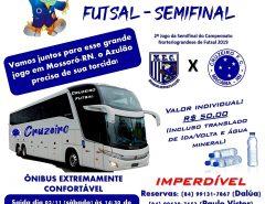 Excursão do Cruzeiro de Macaíba para semifinal do Estadual de Futsal 2019