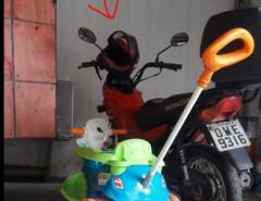 Utilidade pública: moto tomada de assalto em Macaíba na noite desta quinta-feira (31)