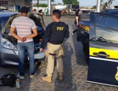 Veículo roubado em Recife é recuperado pela PRF em Natal