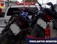 Polícia Militar recupera duas motos roubadas em Parnamirim
