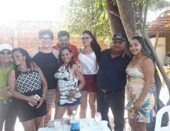 Gerson Lima participa de aniversário do bloco Maria Folia