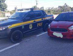 Veículo roubado é recuperado pela PRF em São José de Mipibu