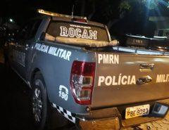 Um morre e dois ficam feridos após confronto com a PM na Grande Natal