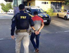 PRF prende no RN foragido da Justiça da PB por estupro
