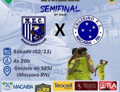 Futsal: Cruzeiro de Macaíba decide classificação para final do Campeonato Norteriograndense amanhã (2)