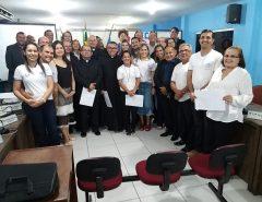 Câmara Municipal faz homenagem em sessão solene aos 40 anos do ECC
