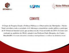 Informe Publicitário: Macaíba sedia Fórum de Imersão Local nesta quinta (14)