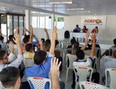 Após assembleia, delegados do RN decidem manter mobilização