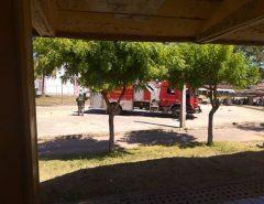 Corpo de Bombeiros é acionado após princípio de incêndio no Caic de Macaíba