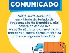 Informe Publicitário: Comunicado