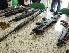 Polícias Civis do RN, MA, PI apreendem fuzis de organização criminosa