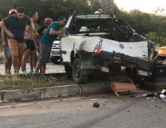 Dois morrem em acidente de trânsito na Rota do Sol, em Natal
