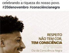Mensagem de Marília Dias alusiva ao Dia da Consciência Negra