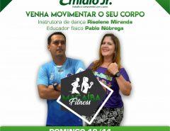 Emídio Jr. irá lançar projeto Macaíba Fitness, neste domingo (10)